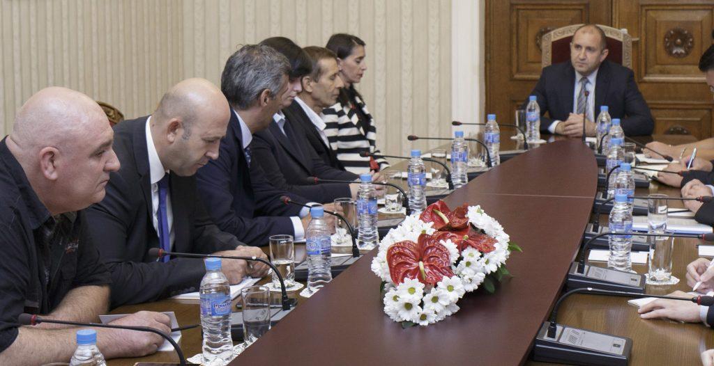 Среща с президента